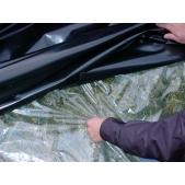 Podkladní transparentní plachta/ folie 18x100m